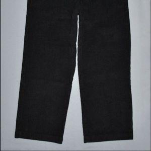 Izod Bottoms - Izod Pants Boy's Size 4 Regular Black Corduroy